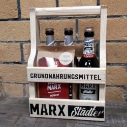 MARX Städter Brotbackmischung BACK DEIN MARX (Holzträger...